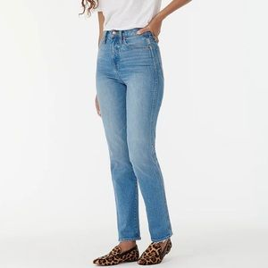 NWT J.Crew High Rise Stovepipe Jeans